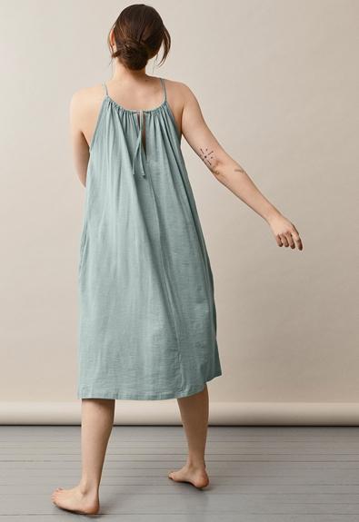 Air halterneck Midi-Kleid - Mint - One size (2) - Umstandskleid / Stillkleid