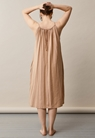 Air halterneck midi dress - Sand - One size - small (2)