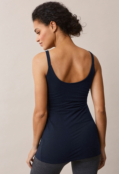 Easy singlet - Midnight blue - S (3) - Umstandstop / Stilltop