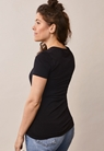 Classic short-sleeved top - Black - XL - small (4)