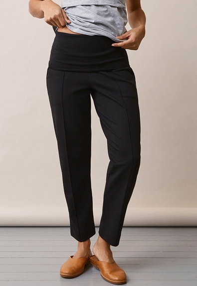 Once-on-never-off slacks - Svart - S (5) - Gravidbyxor