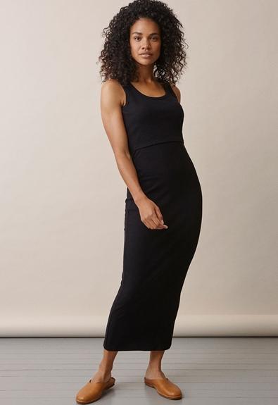 Signe ärmlös klänning - Svart - L (2) - Gravidklänning / Amningsklänning