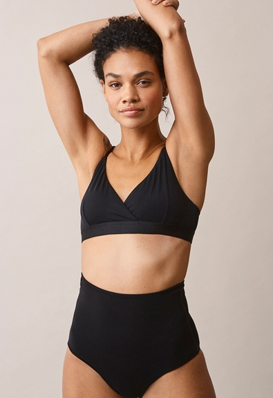 24/7 triangle bra - Black - S (3) - Maternity underwear / Nursing underwear