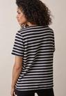 Breton short-sleeve top - Midnight blue/tofu - M - small (2)