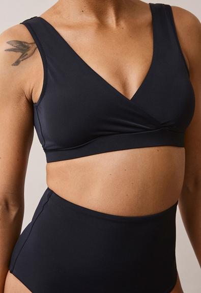 24/7 bikini top - Black - L (3) - Materinty swimwear / Nursing swimwear