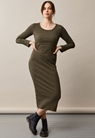 Signe Kleid - Pine green - S - small (1)