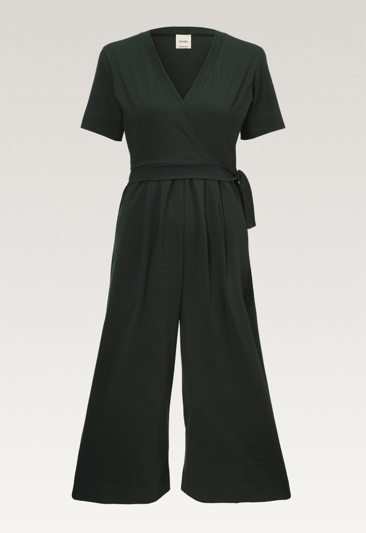Amelia jumpsuitdeep green (6) - Maternity  / Nursing