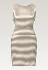 Simone ärmlös klänning - Tofu/Hazelnut - M - small (6)