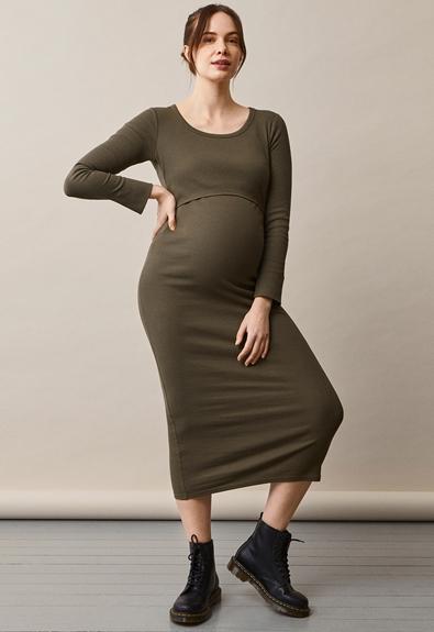Signe Kleid - Pine green - S (2) - Umstandskleid / Stillkleid