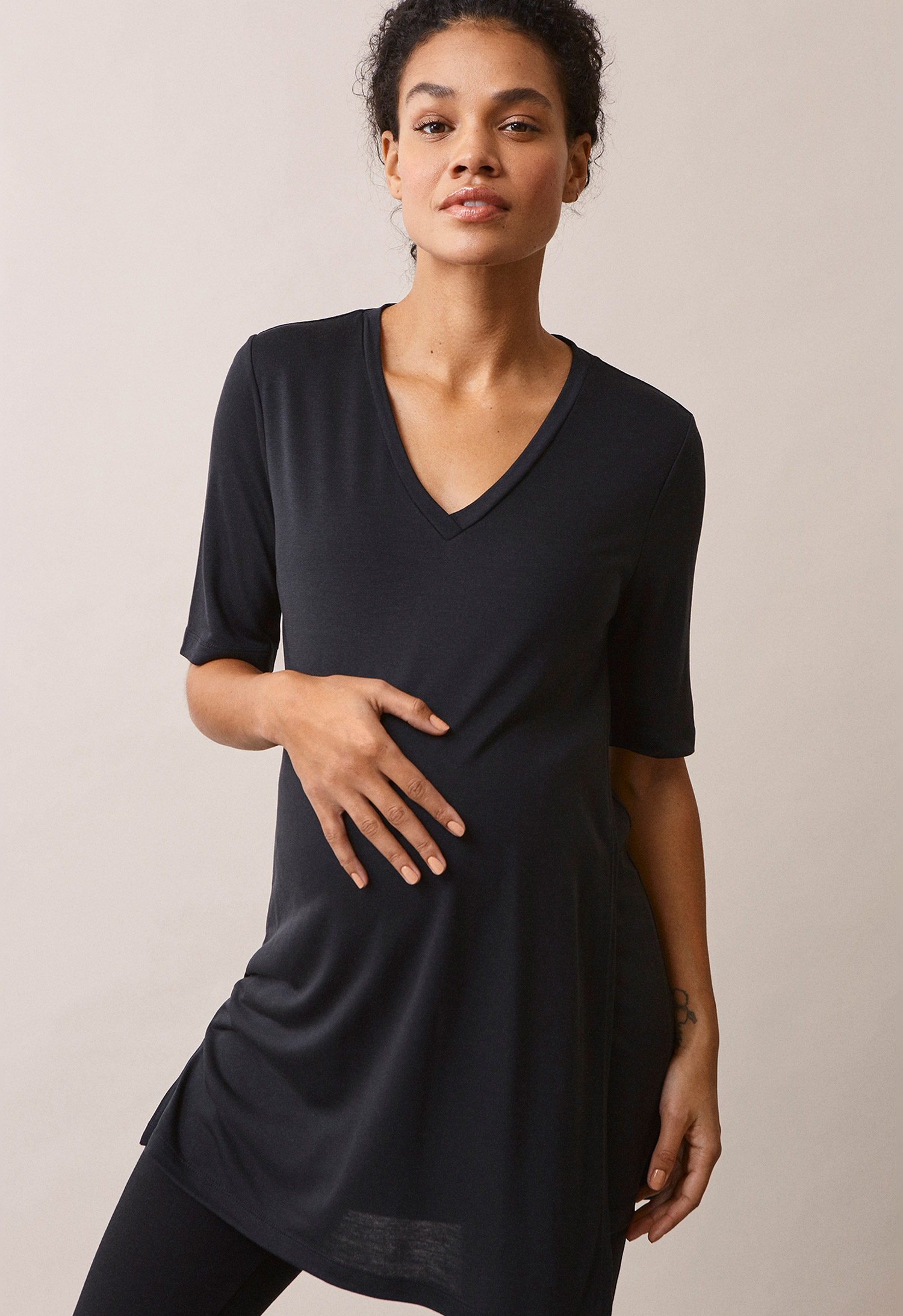 The-shirt tunic