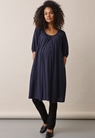 Air short-sleeved dress - Midnight blue - L - small (1)
