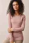 Classic long-sleeved top - Mauve - XXL - small (2)