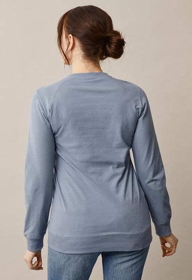 B Warmer sweatshirt - Blue ash - L (2) - Gravidtopp / Amningstopp