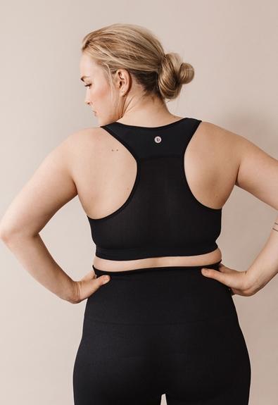 Fast Food sports bra - Black - M (4) - Maternity underwear / Nursing underwear