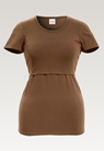 Classic short-sleeved top - Hazelnut - S - small (5)
