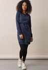 B Warmer dress - Thunder blue - S - small (1)