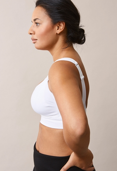 Fast Food Bra Elevate - White - XL (2) - Maternity underwear / Nursing underwear
