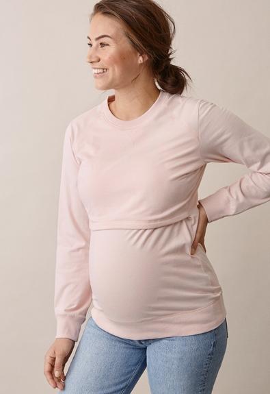B Warmer sweatshirt - Light pink - L (2) - Gravidtopp / Amningstopp