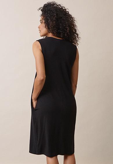 Lil dressblack (3) - Gravidklänning / Amningsklänning