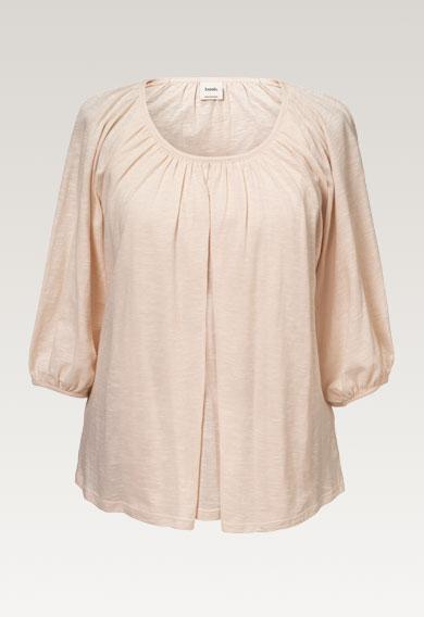 Air blousepeachy (6) - Maternity top / Nursing top