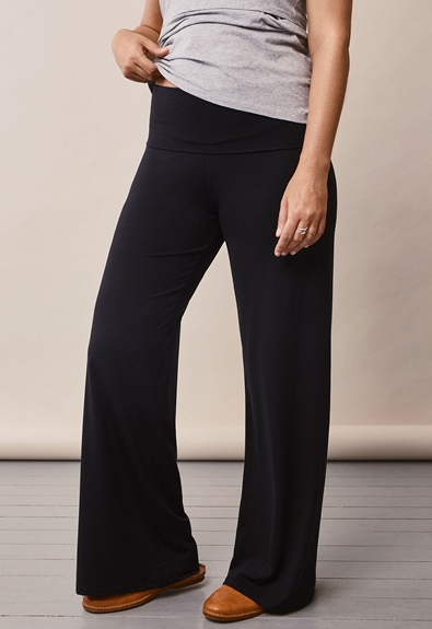 Once-on-never-off Loungehose - Schwarz - L (4) - Umstandshose