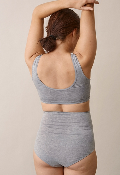24/7 BH - Grey melange - S (3) - Gravidunderkläder / Amningsunderkläder