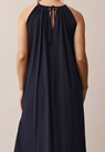 Air halterneck Kleid - Midnight blue - S - small (3)