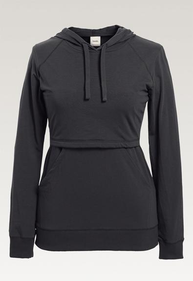B Warmer hoodie - Iron - XL (4) - Umstandsshirt / Stillshirt