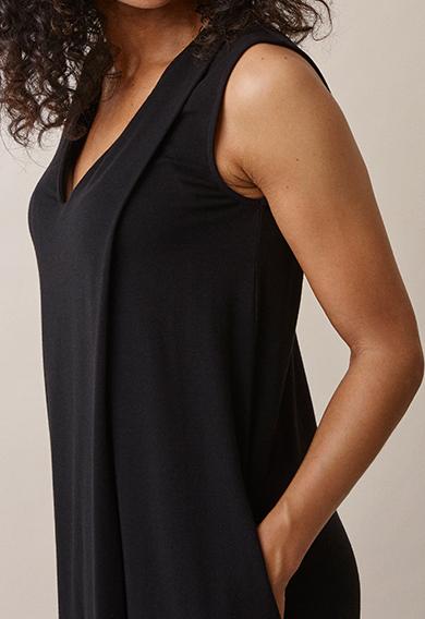 Lil dressblack (4) - Gravidklänning / Amningsklänning