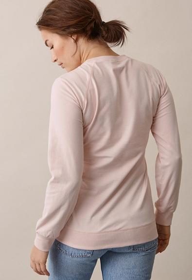 B Warmer sweatshirt - Light pink - L (3) - Gravidtopp / Amningstopp