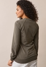 B Warmer sweatshirt - Olive leaf - S - small (3)