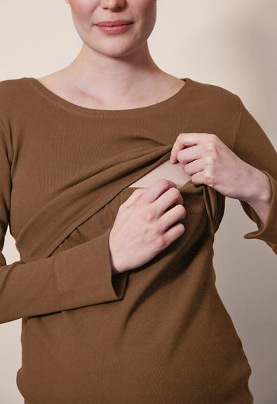 Signe klänning - Hazelnut - L (3) - Gravidklänning / Amningsklänning