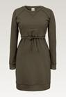 B Warmer Kleid - Pine Green - L - small (6)