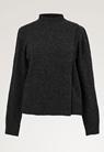 Sesame wool sweater - Almost black - L/XL - small (4)