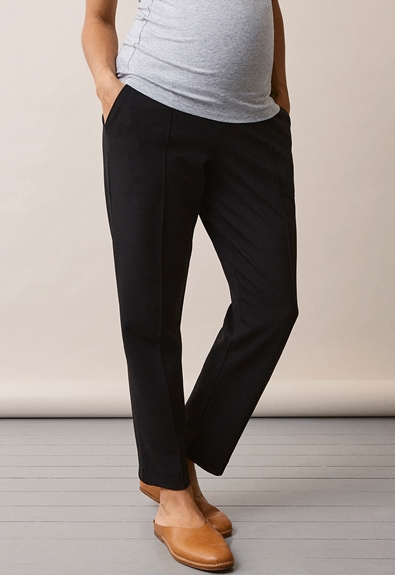 Once-on-never-off cropped Slacks