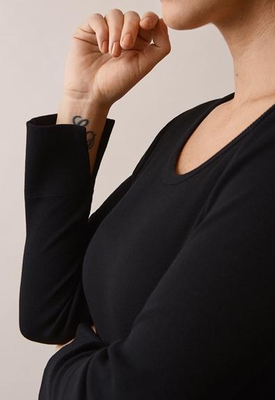 Signe Kleid - Schwarz - M (4) - Umstandskleid / Stillkleid