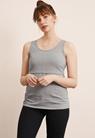 Classic linne - Grey melange - L - small (2)