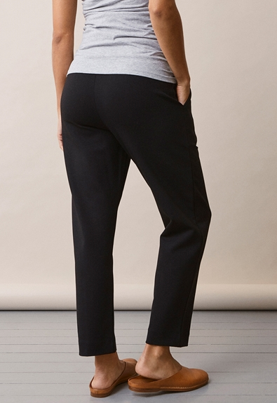 Once-on-never-off slacks - Svart - S (6) - Gravidbyxor