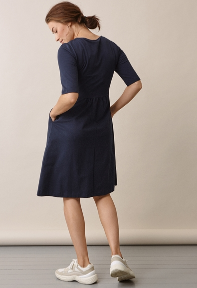 Linnea Kleid - Midnight blue - S (3) - Umstandskleid / Stillkleid