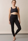 Soft support leggings - Black - S/M - small (2)