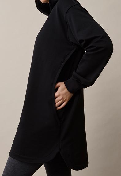 BFF hoodie - Black - M (6) - Maternity top / Nursing top