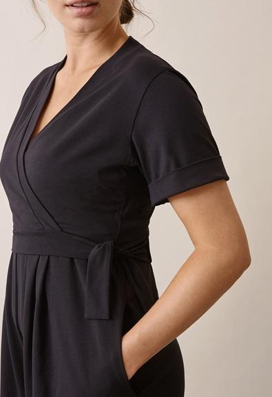 Amelia jumpsuit - Black - M (4) - Maternity  / Nursing