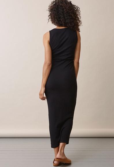 Signe ärmlös klänning - Svart - L (3) - Gravidklänning / Amningsklänning