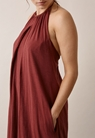 Air halterneck Kleid - Port red - L - small (4)
