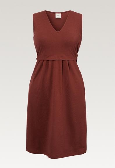 Tilda klänning - Cayenne - XL (4) - Gravidklänning / Amningsklänning