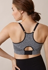 Fast Food Soft Sports Bra, dk greymelange L - small (3)