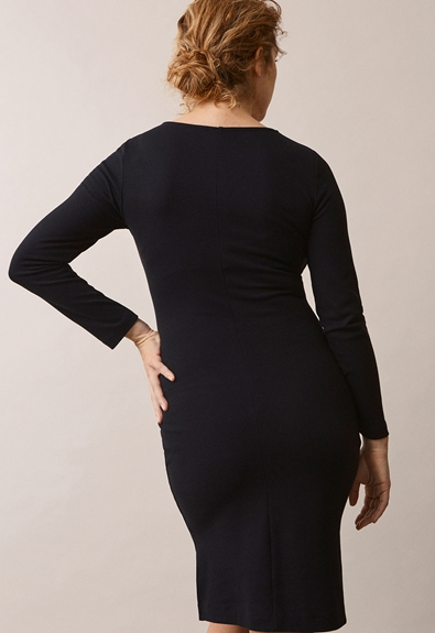 Ines dress - Black - XL (3) - Maternity dress / Nursing dress
