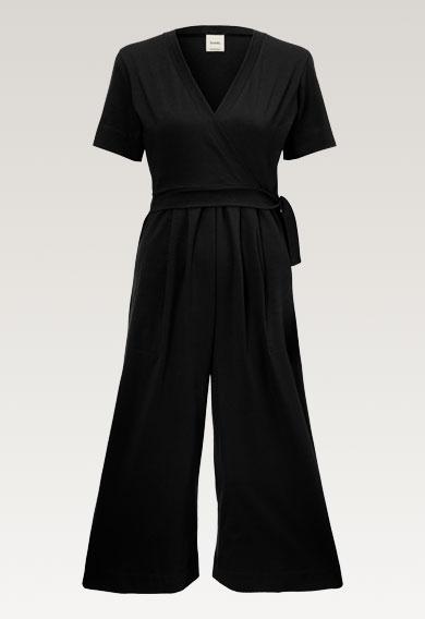 Amelia jumpsuit - Black - M (6) - Maternity  / Nursing