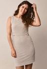 Simone ärmlös klänning - Tofu/Hazelnut - M - small (1)