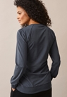 B Warmer sweatshirt - Steel blue - L - small (3)